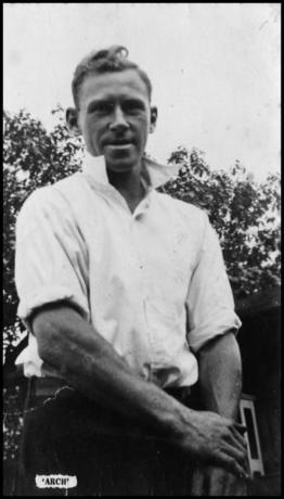 Archie Taylor postcard