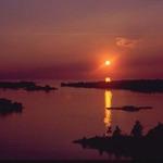 PAB sunset