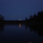 Steamboat moonrise