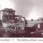 Bellevue hotel postcard
