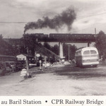 C.P.R Bridge postcard