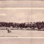 The Ojibway Hotel, Ojibway Island, 1910
