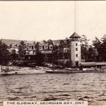 Ojibway, around 1913, roof lines are different