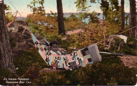 An Indian Papoose, 1914