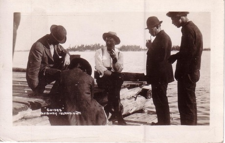 Guides at the Ojibway Hotel, year unknown