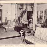 Lounge at the Ojibway, late 40's or early 50's