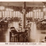 Dining Room at the Ojibway, 1940s