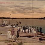 Wharf at the Ojibway Hotel, 1916