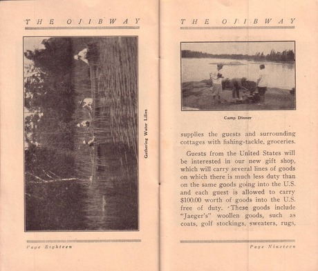 Brochure pages 18 and 19