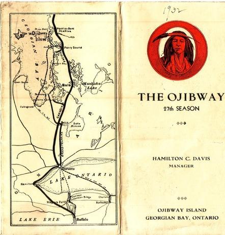 1932 Ojibway Hotel brochure