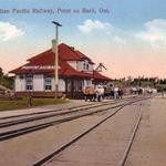 Pointe Au Baril Train Station