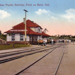 Pointe Au Baril Train Station