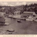 Gordon's Restaurant at the dock, Point Au Baril