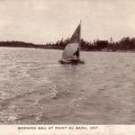 Morning Sail at Point Au Baril