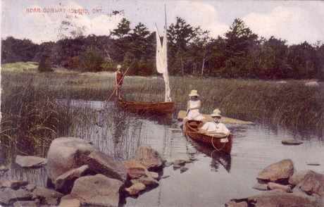 Near Ojibway Island, 1924