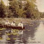 Gathering Waterlilies near the Ojibway 1913