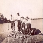 Caught at Bayfield near Ojibway Island 1920s