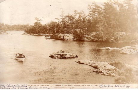 Hemlock Channel, Ojibway Island, Georgian Bay