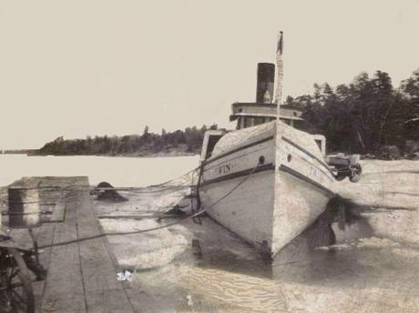 The steam tug