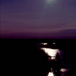 Moonscape from top of Range Light