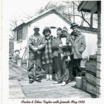 Archie & Edna Taylor with friends - May 1956