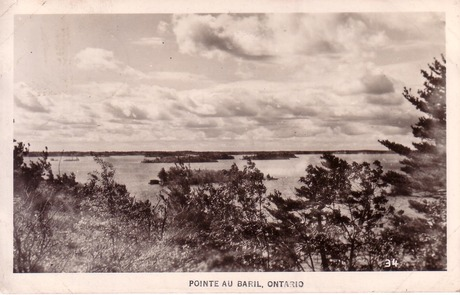 Pointe Au Baril 1953