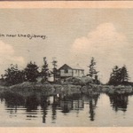 Log Cabin near The Ojibway Hotel