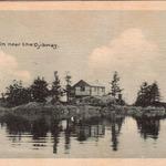 Log Cabin near The Ojibway Hotel