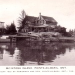 McIntosh Island mailed in 1938