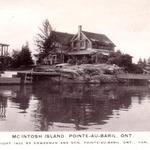 McIntosh Island mailed in 1938