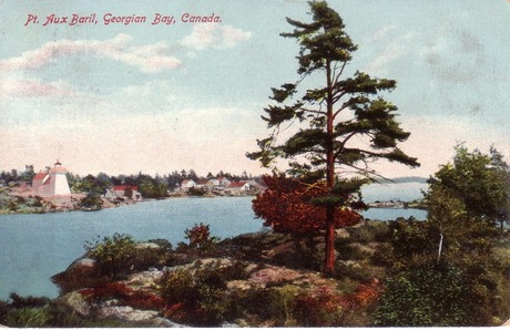 View from Lookout Island around 1908