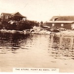 J D McIntosh Store - card mailed 1925