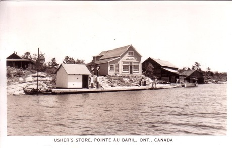 E. Ushers Store sometime after 1946