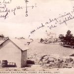 Lighthouse around 1917