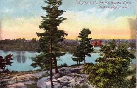 The Bellevue mailed 1909 Pt. Aux Baril