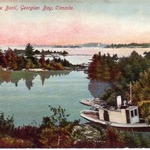 Point Aux Baril mailed 1910
