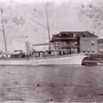 H Ward Leonards yacht at the Bellevue