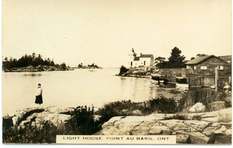 Lighthouse around 1930