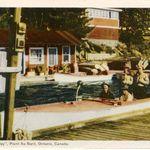 Pointe au Baril Dock - 1950's