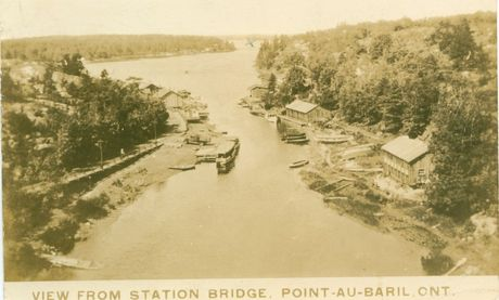 View from Station Bridge 1936