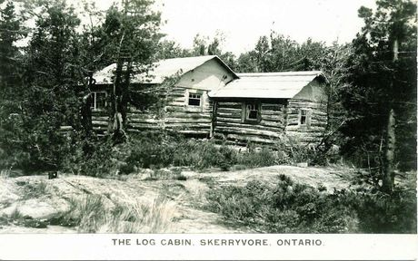 Log Cabin in Skerryvore