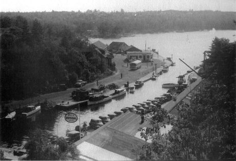 Pointe au Baril around 1940