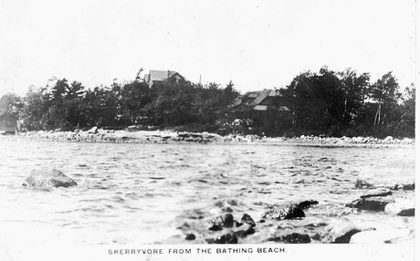 Skerryvore Hotel from the Bathing Beach