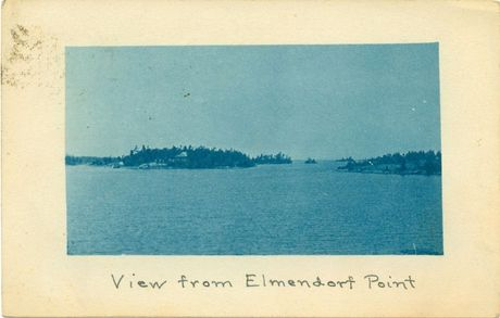 View from Elmendorf Point 1913