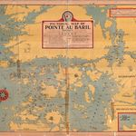 1945 PaBIA Map Pointe au Baril