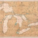 General Chart of the Great Lakes  - 1926