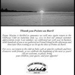 Payne Marines Annual Customer Appreciation Event