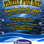 Desmasdons - Family Fun Day