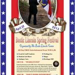 NANCY HANKS, BONDWOMAN - BOSTIC LINCOLN SPRING FESTIVAL