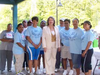 Mayor Bonnie Heath Support WOV